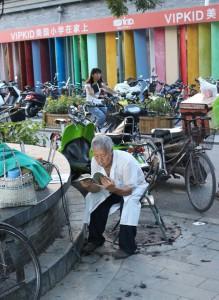 Parrucchiere per strada, Pechino - foto di Ilaria Giani